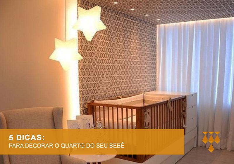 iluminação quarto de bebe