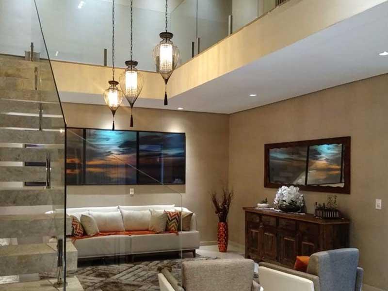 luminarias pendentes para sala de estar