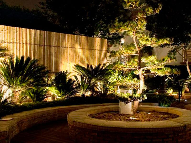 refletor de jardim oval