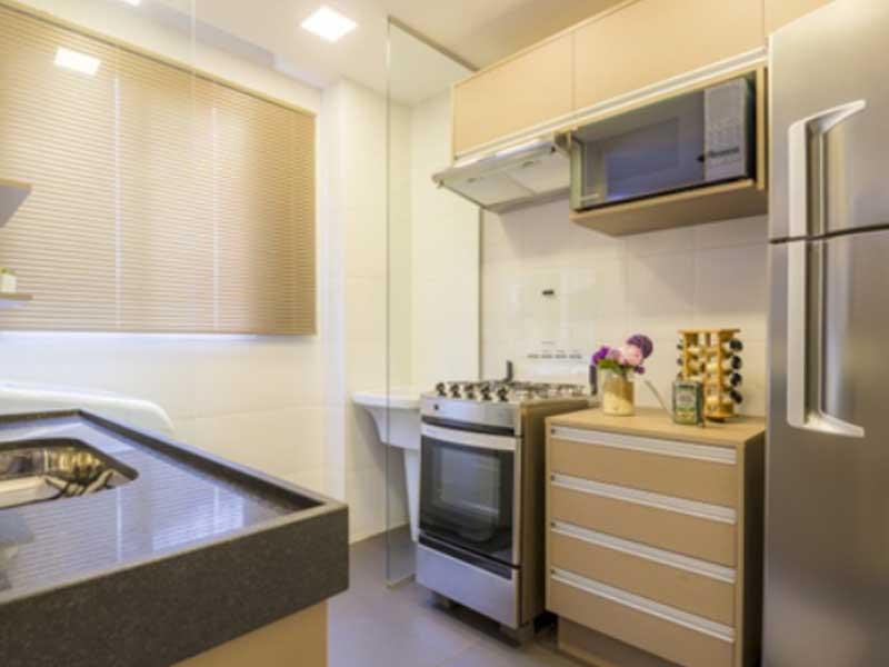cozinha pequena mármore