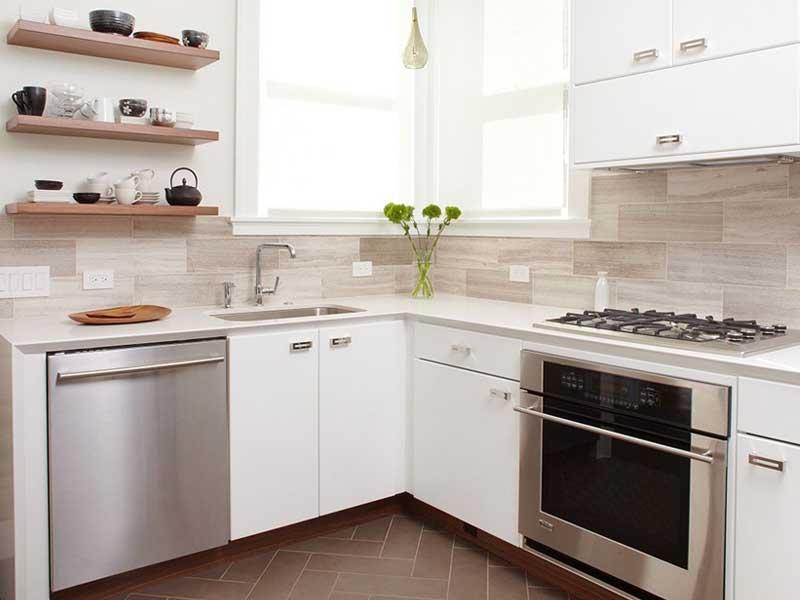 cozinha pequena móveis na quina