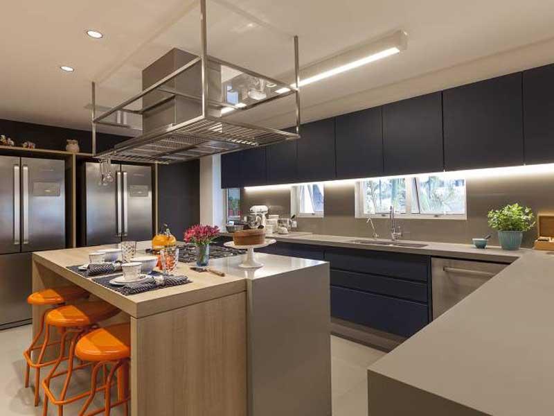 iluminação de led cozinha
