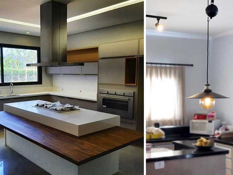 iluminação natural para cozinha