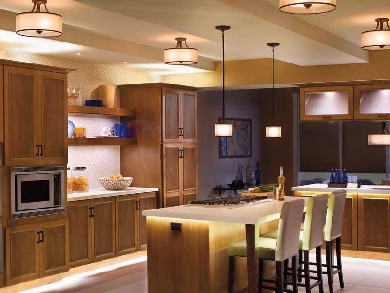 iluminação pendentes cozinha