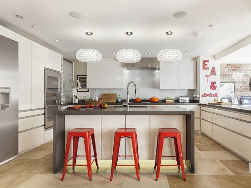 luminária pendente para cozinha