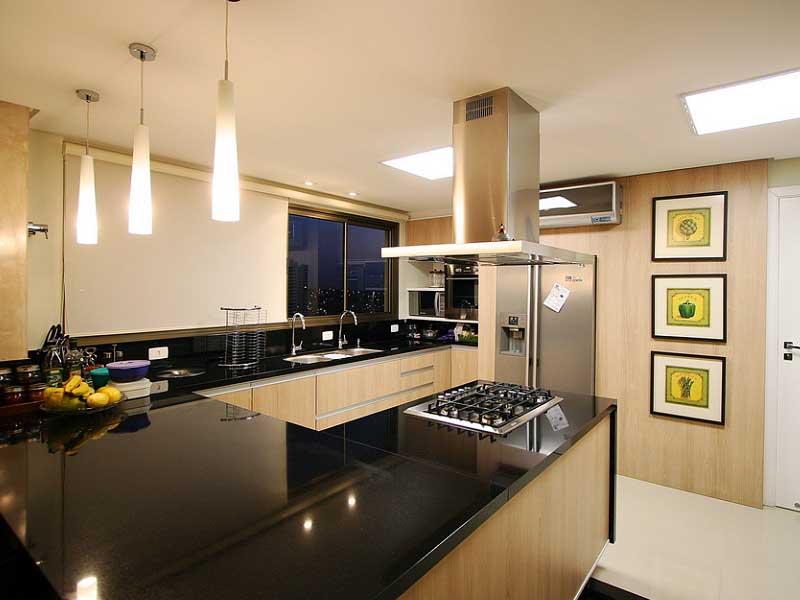 pendentes iluminação de cozinha