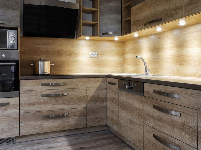 spot de luz cozinha