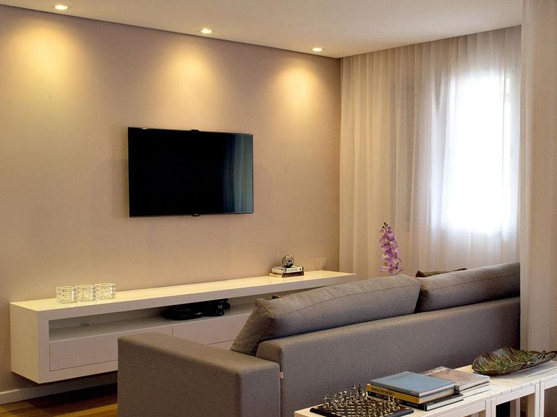 spot de luz sala da tv