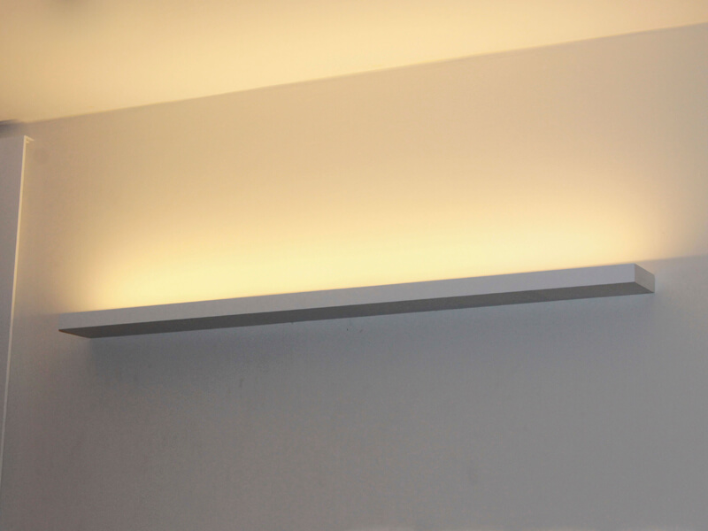 arandela uplight
