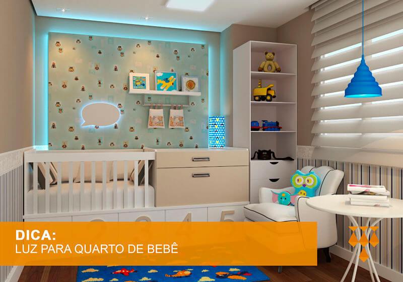luzes para quarto de bebê