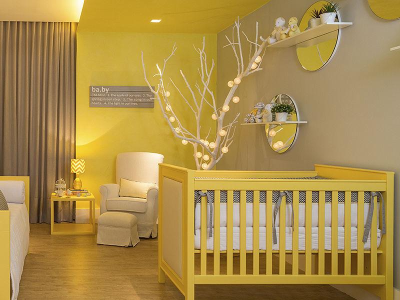 quarto de bebê cores alegres