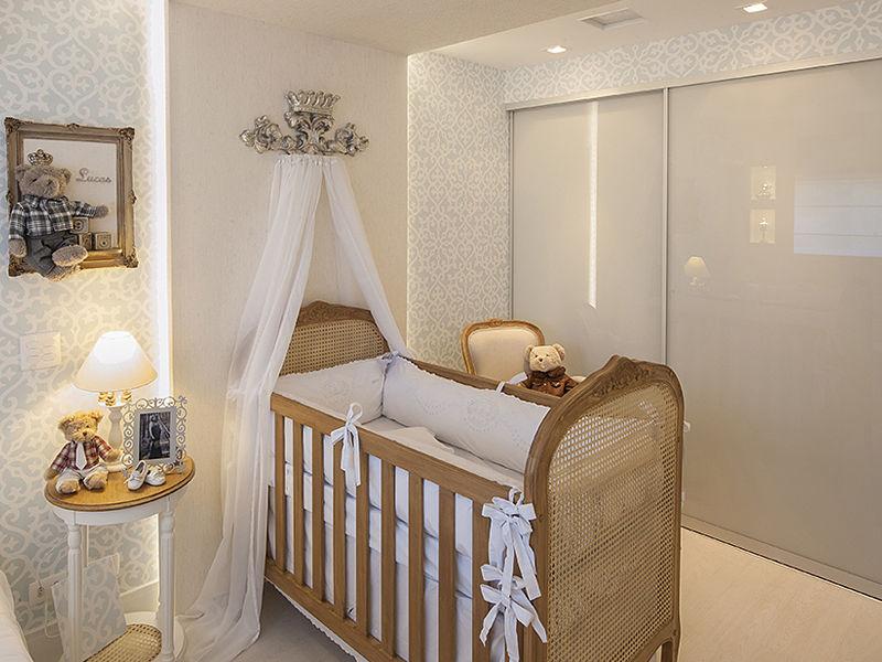 quarto de bebê luz painel de led