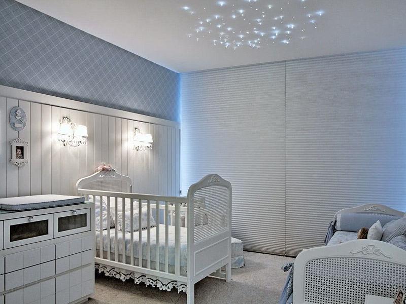 quarto de bebê luz spots