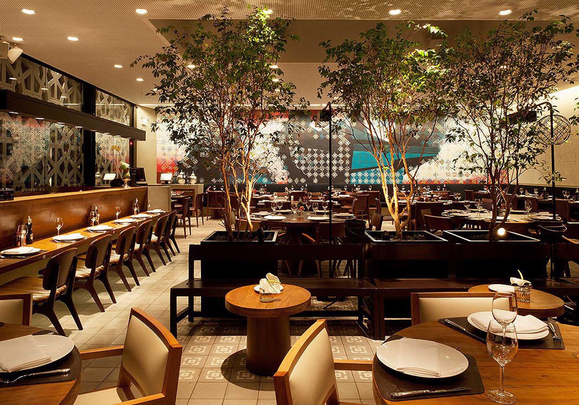 iluminacao restaurante