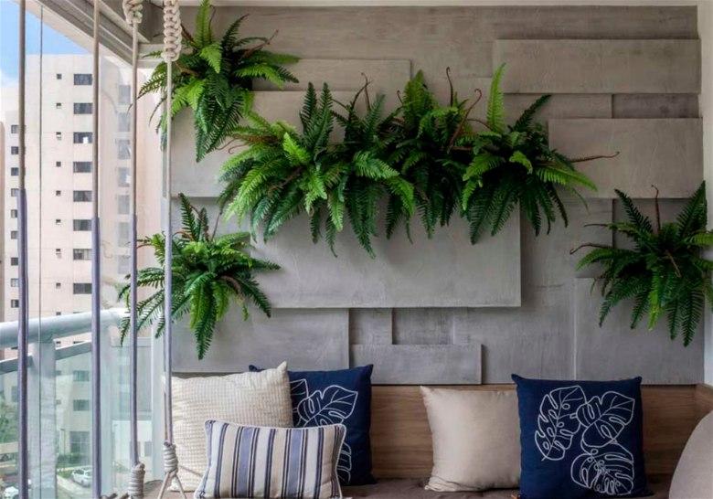 Plantas para interiores samambia