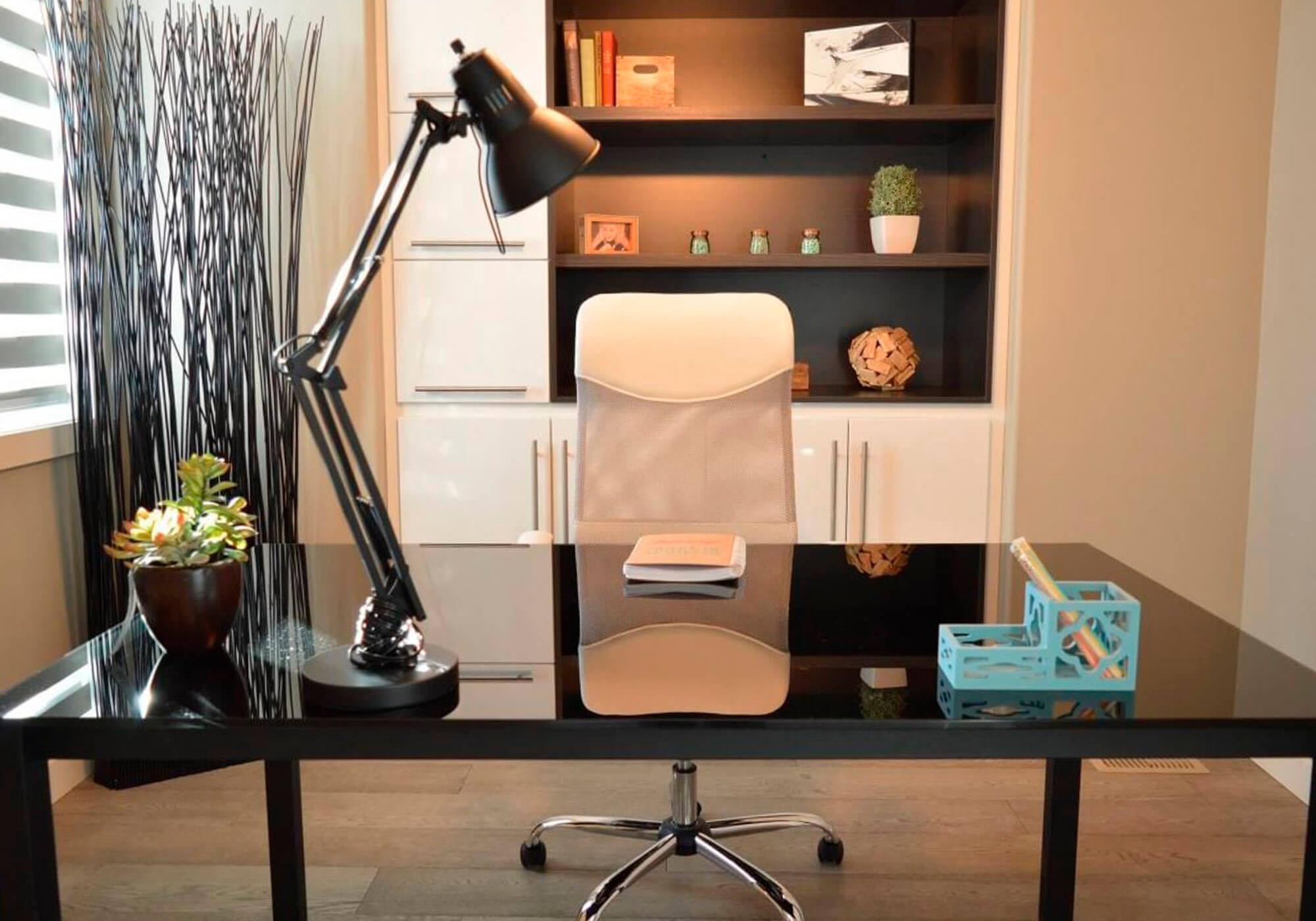 montando iluminação para home office