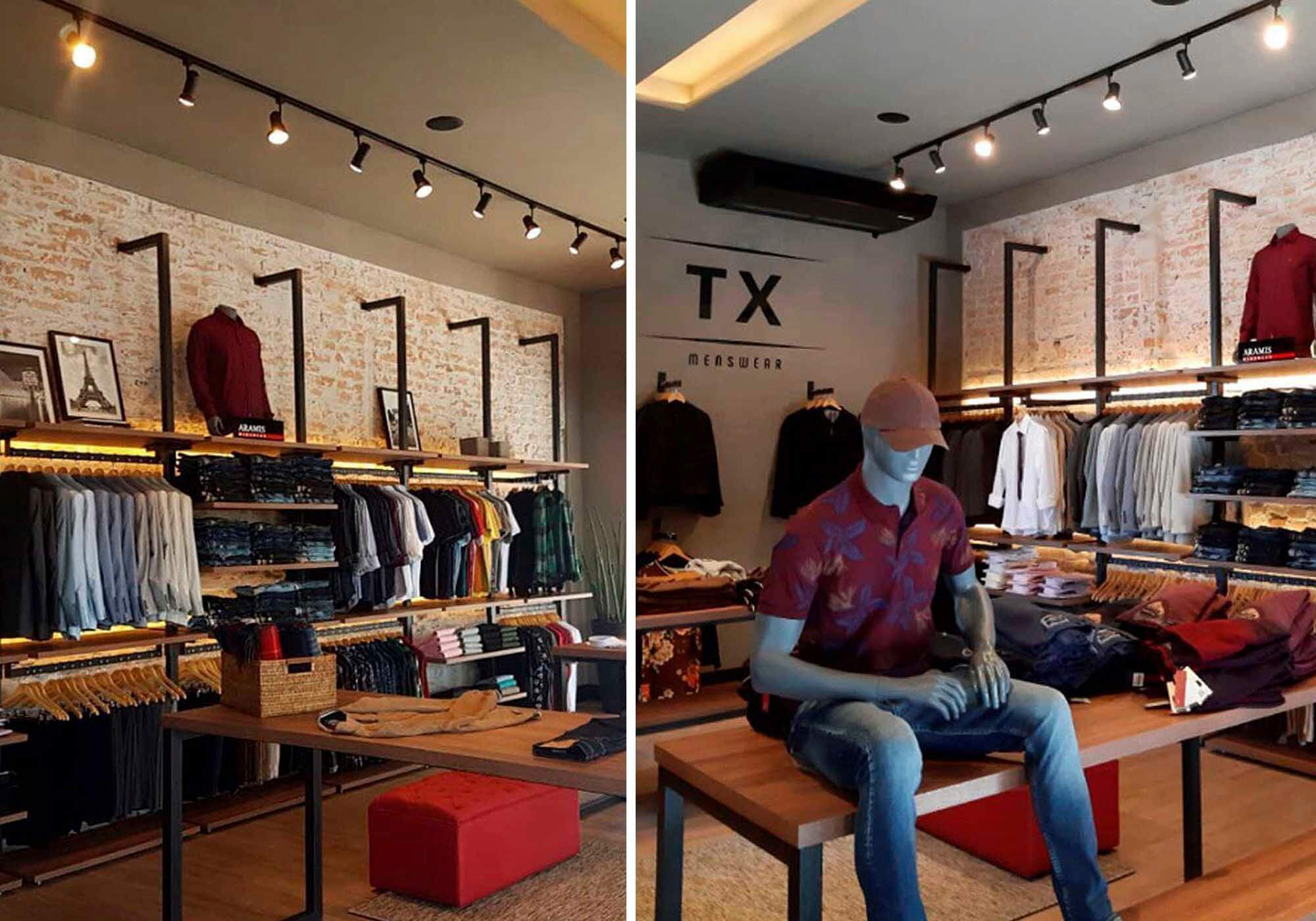 dicas para iluminação loja de roupa