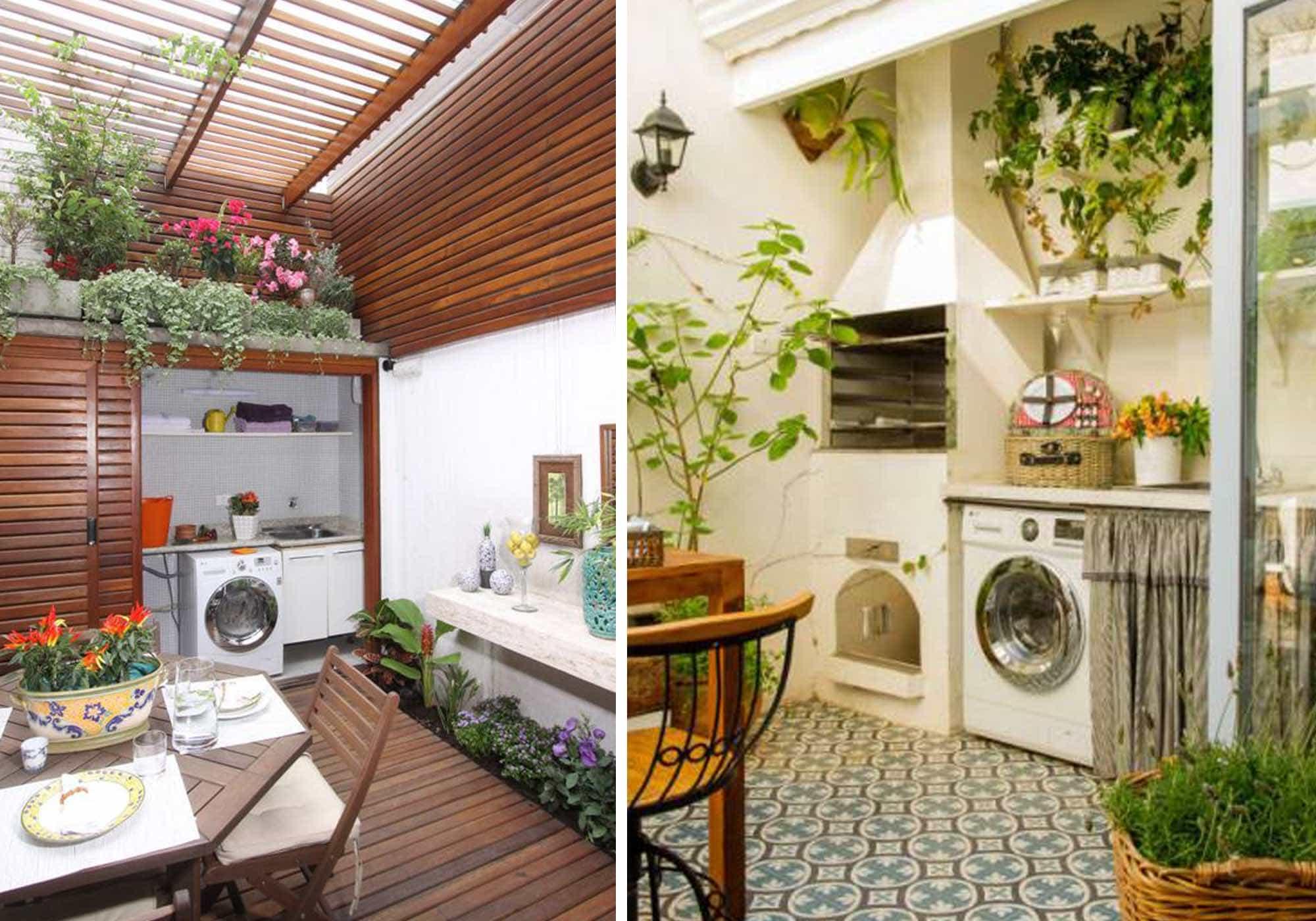 Como fazer a iluminação da lavanderia e churrasqueira