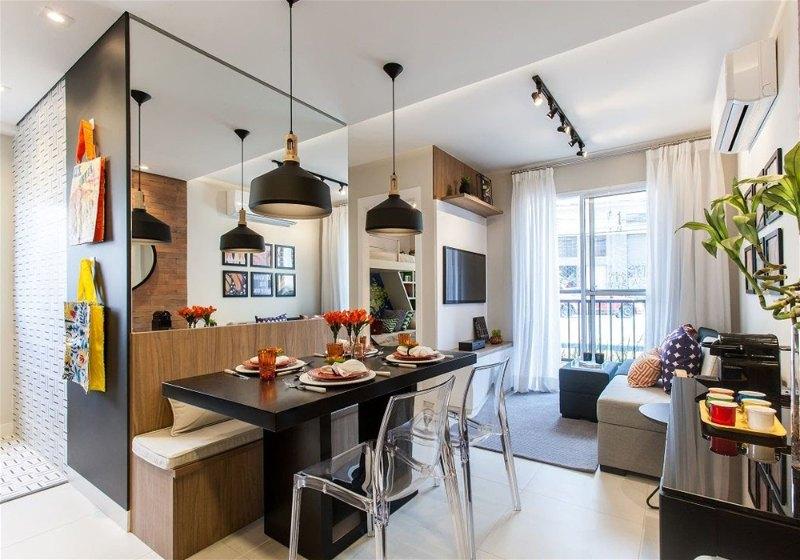 Imagem com dicas para decoração de apartamento