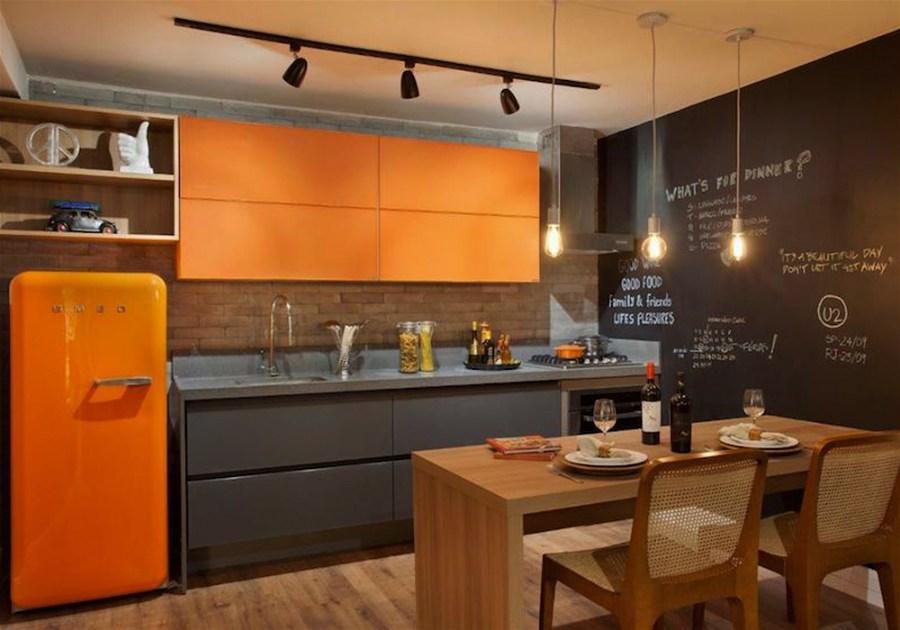 cozinha com luz direta