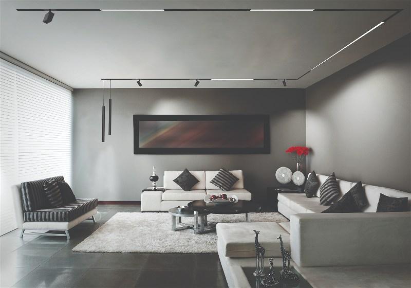 Imagem de sala de estar ampla